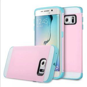 Samsung Galaxy S6 Edge Hybrid slim Shockproof case